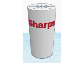 Sharps Container - Round
