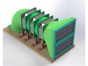 3D Printer HEPA filter 80mm Roomba