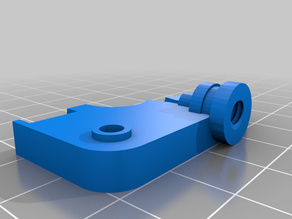 Monoprice Select Mini threaded extruder plate with taper