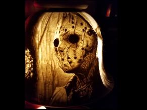 Freddy Jason Chainsaw Lithophane Lampshade