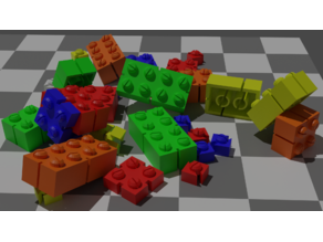 GIB - Generic Interlocking Brick toy set Megablock and Lepin compatible