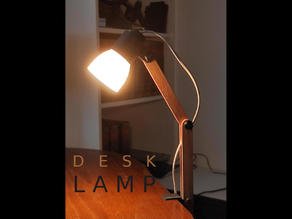 Fully Printable Modern Desk Lamp