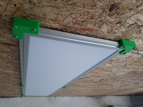 Holder for LED panel