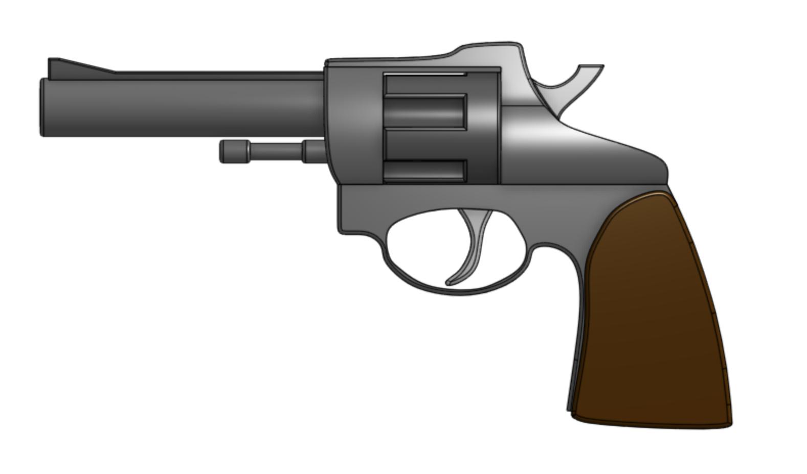 Revolver Pistol Thing
