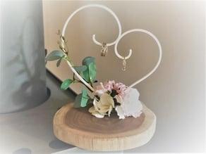 Wedding ring hanger
