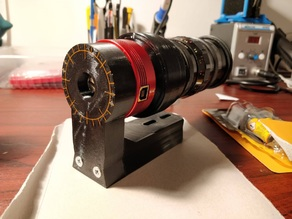 Vixen dowetail mount for ZWO ASI non-cooled cameras