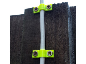 Cable Wall Screw Mount (customisable / parametric)