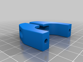 Rigidbot Titan Aero Mount + Filament Guide + Strain Relief
