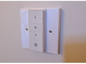 Philips Hue Dimmer Switch Mount for UK light switches