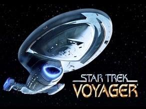 Start Trek - USS Voyager (NCC-74656) - detailed & printable