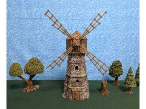 The Abandoned Windmill