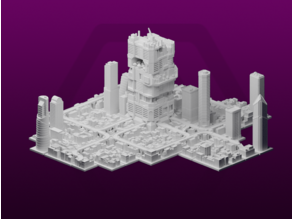 GreebleCity Set 09: Megatower 16