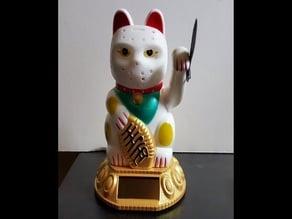 Hello, Stabby Kitty + Machete - Scaled