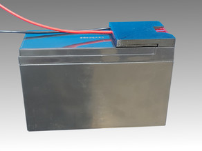 Terminal Adapter for 12V 7Ah Batterie Type