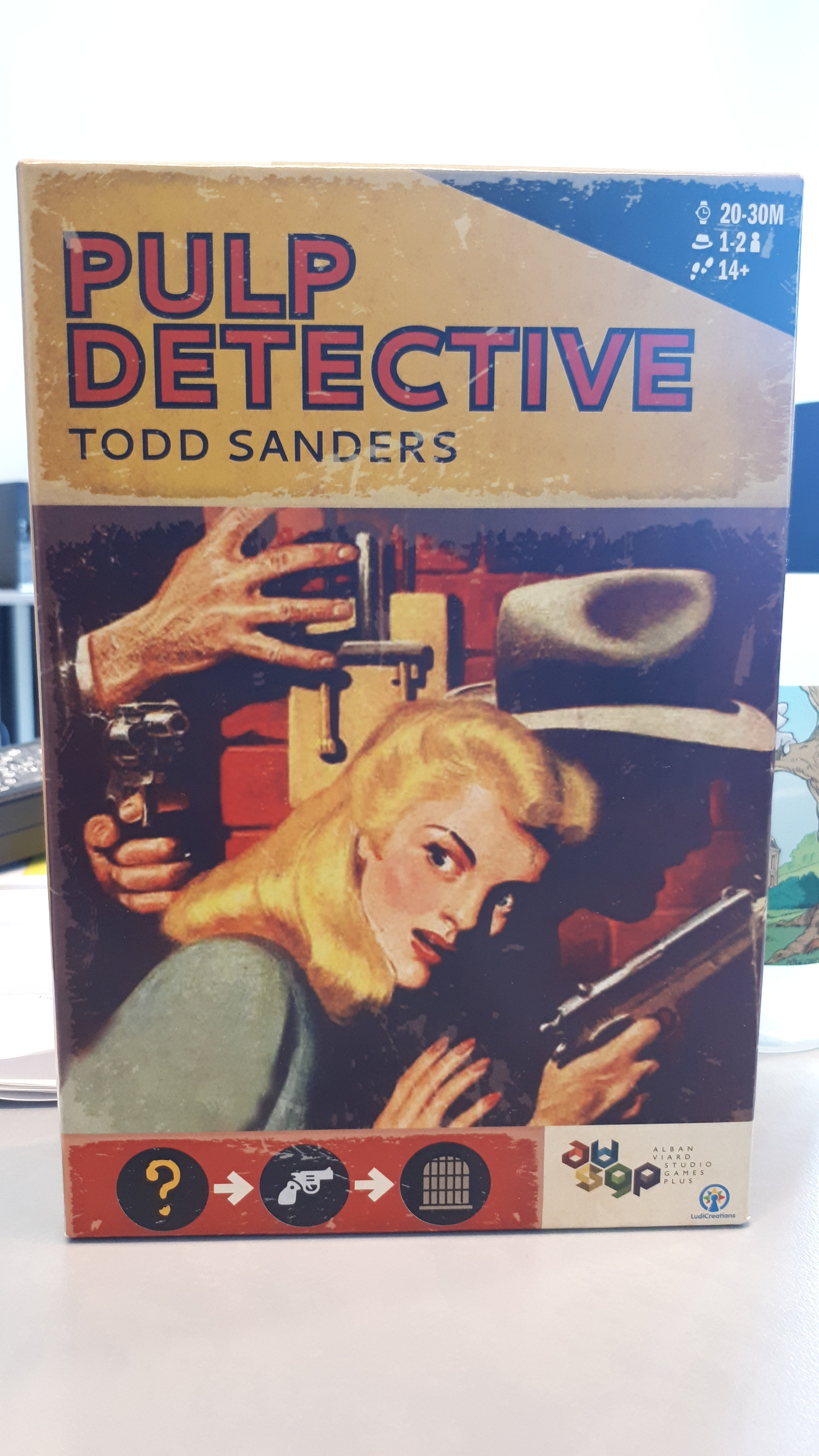 Pulp Detective + Extension 1 & 2