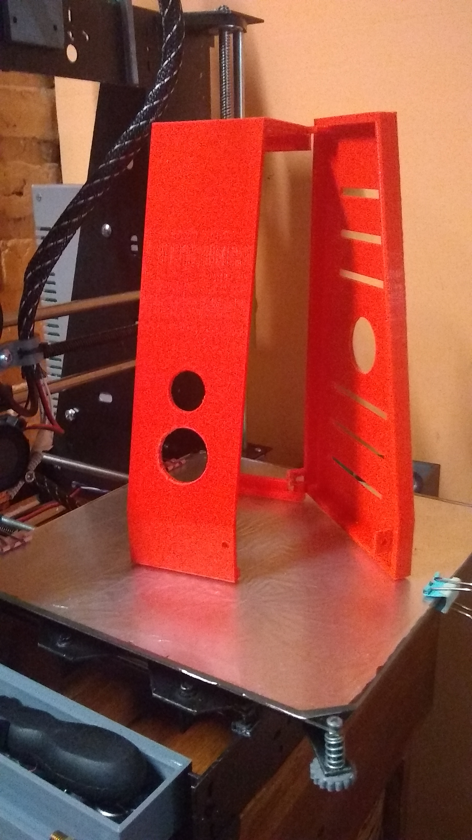 RAMPS Enclosure for Prusa Steel