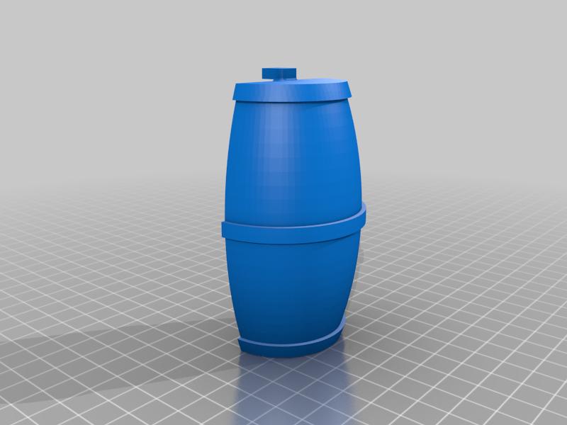 RC Receiver barrel & headlight