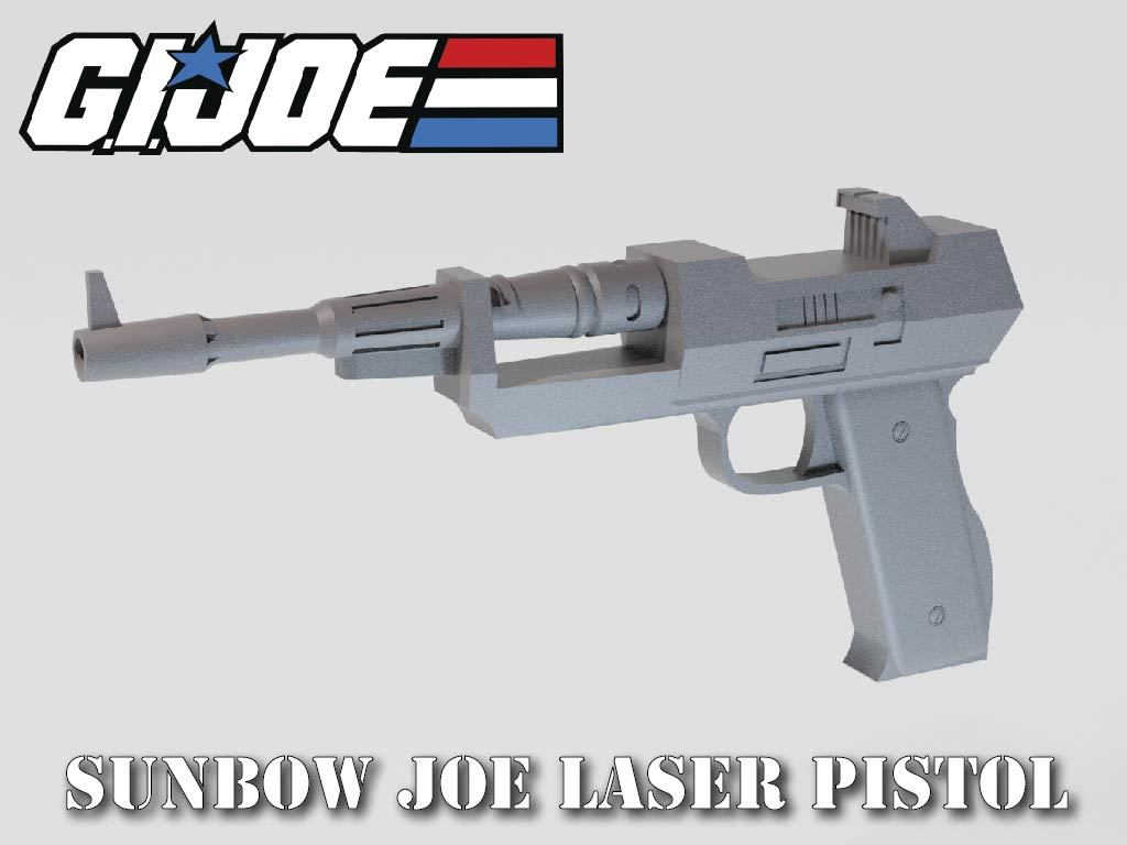JOE Laser Pistol
