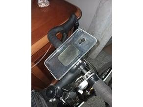 Bike smartphone mount with quick lock - Aero version