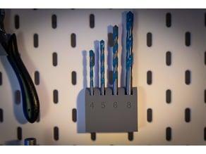 Ikea Skadis Drill Holder