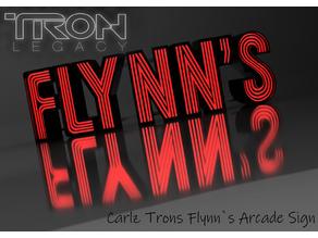 Carlz TRON LED Flynn`s Arcade Sign