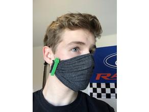 DIY Fabric Face Mask Clip 2