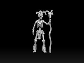 Skeleton Witch Doctor
