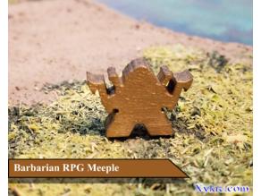 Barbarian Meeple - RPG - DnD