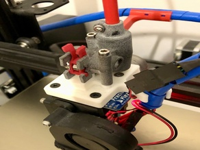 PrecisionPiezo Orion Nimble Mount for Creality Printers