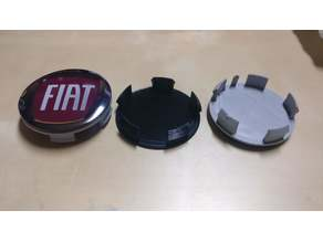 Center wheel cap for Fiat Ducato 60mm