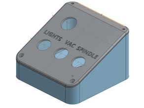 CNC Router Switch Box With E-Stop (LongMill)