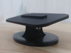 Echo Show 5 Adjustable stand with compact oval base