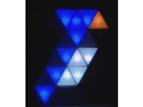 Triangular Pixel Bird LED Frame