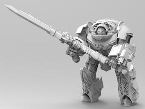 Janitorial Achillus Dreadnought - 2H Pose