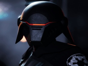 Star Wars Second Sister Helmet Armour