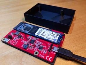 R-Pi M.2 SSD Box Startech PIB2M21