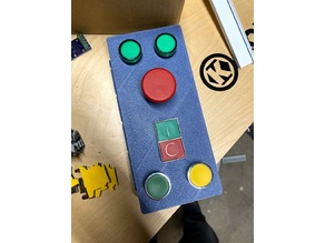 22mm button panel for extrusion side mount