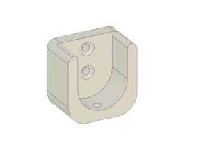 Closet rod holder (26mm)