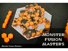 Monster Fusion Masters V1(board game)