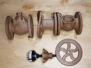 Valves for Steampunk Plumbing