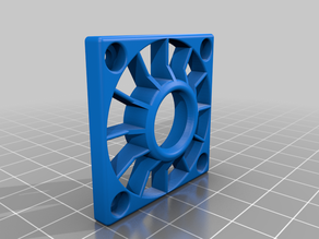 fan shroud i made for 40mm fans