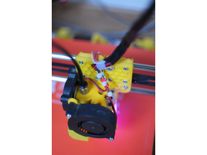 AM8 (Anet A8) Bowden X carriage stock hotend 3dtouch/bltouch
