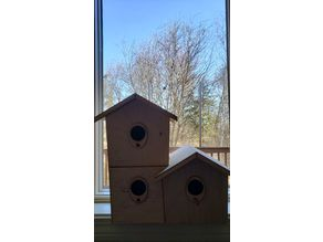 Triple Bird House