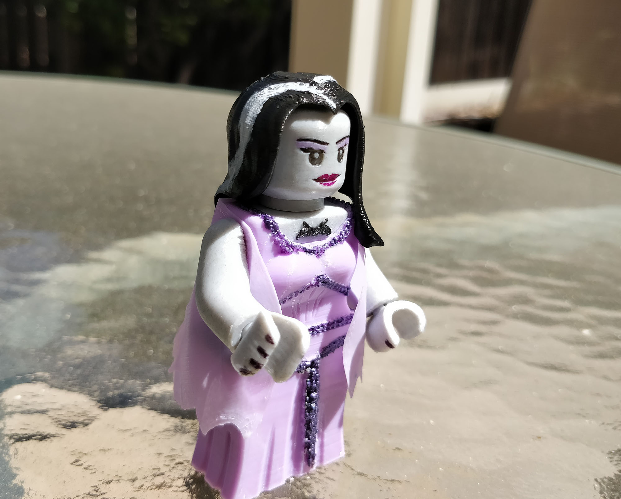 Lego Munsters Lily 2x