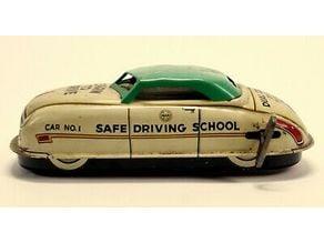 Hudson Hornet Wind Up Car