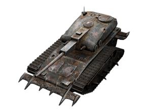 Gravedigger Tank from WoT Blitz