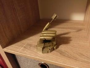 Mondoshawan key with hand mount