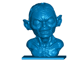 Gollum USB | SD | Micro SD Card Holder