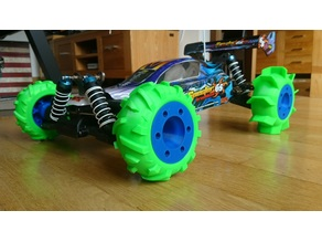 RC Buggy Sand & Snow Tires 1:10 & 1:8