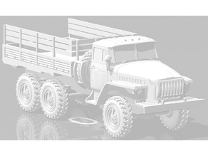 1/285 Ural 4320 Truck